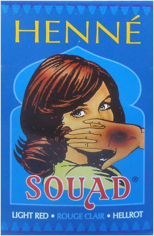 Henné Souad Rouge Clair x10