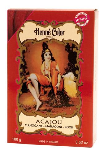 Coloration henné poudre henné color acajou 100g