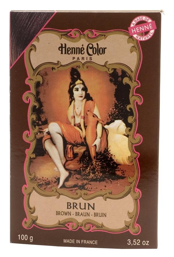 Coloration henné poudre henné color brun 100g