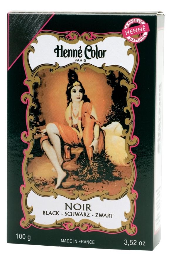 Coloration henné poudre henné color noir 100g