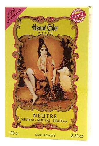 Coloration henné poudre henné color neutre 100g