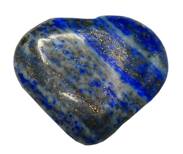 Coeur en Lapis Lazuli \'B\' 4cm