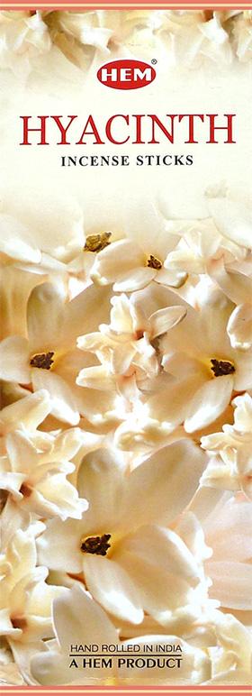 Encens hem hyacinthe hexa 20g