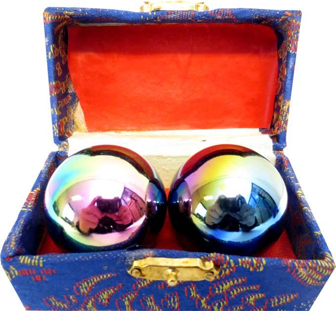 Boules de massage colorées 4cm