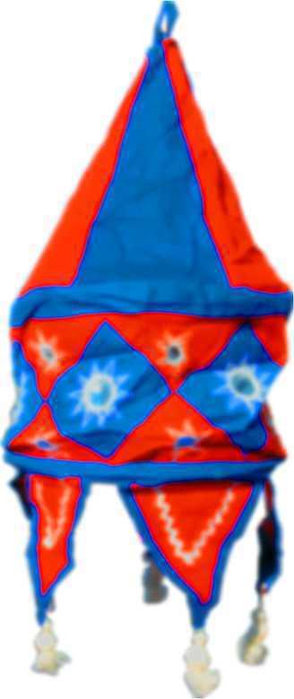 Lampion tissu 18 inch
