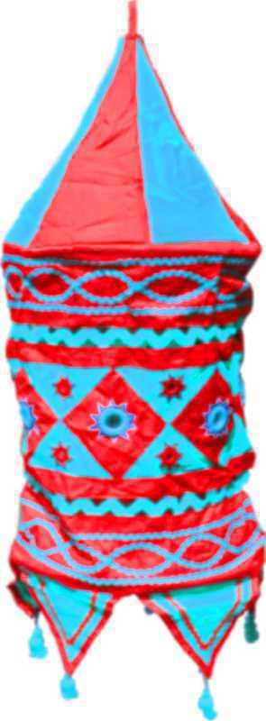 Lampion tissu 24 inch