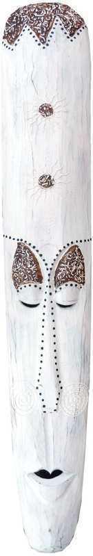 White Mask Wood & Resin 100cm