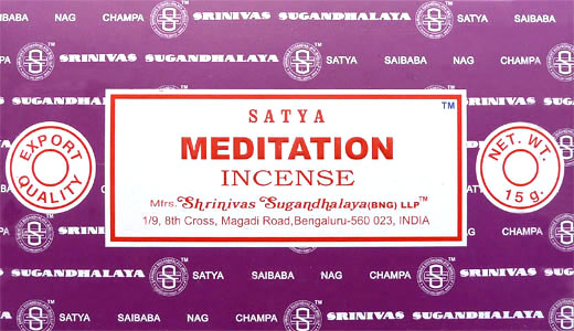 Encens satya meditation 15g