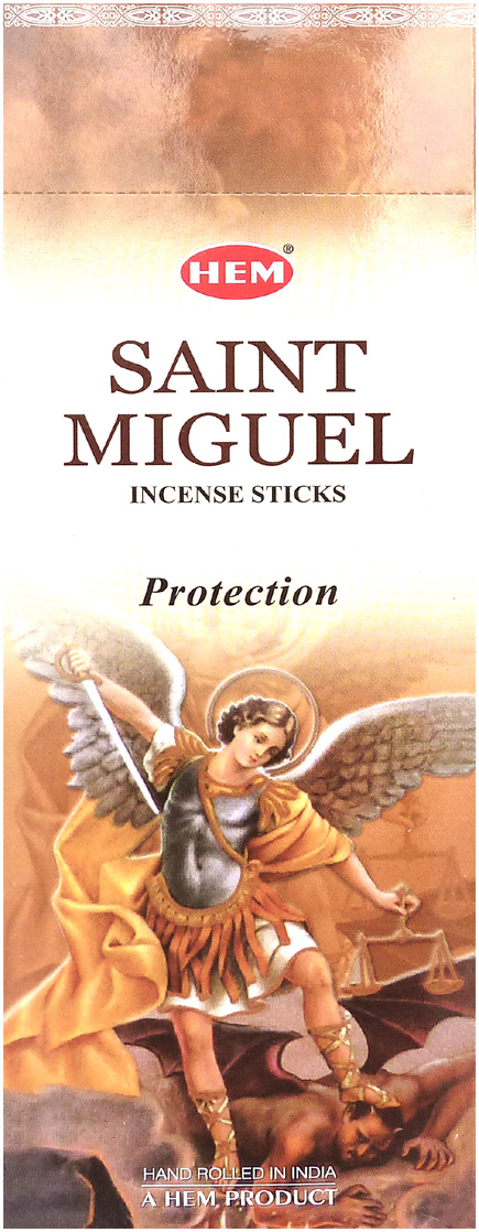 Archangel saint michael brown hem incense hexa 20g