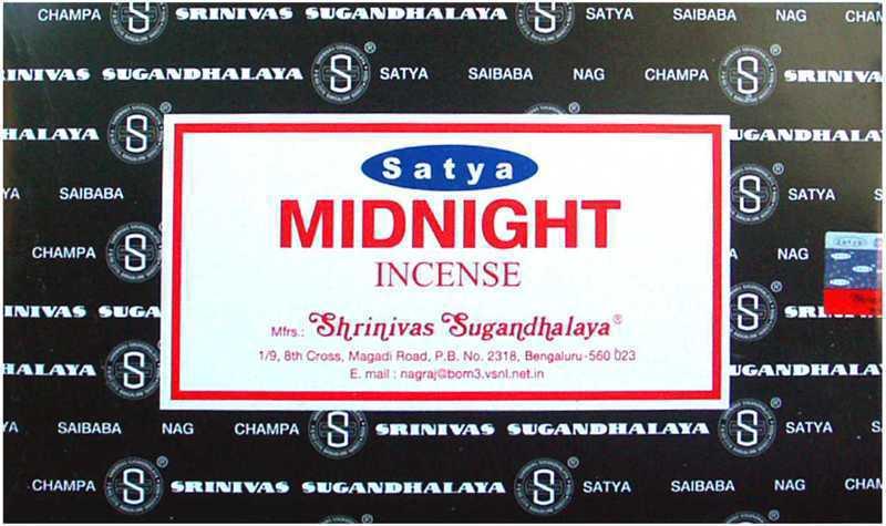 Encens Satya Midnight 15g