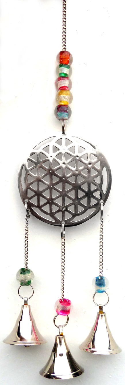Flower of life carillon & bells 25cm