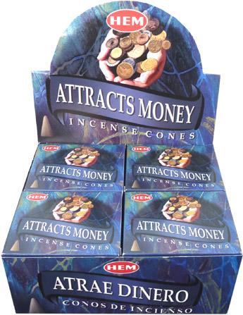 Encens hem attire l argent cones