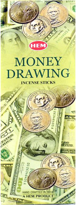 Encens hem money drawing hexa 20g