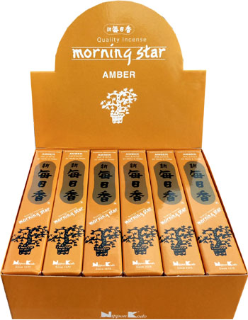 Encens japonais morning star ambre paquet de 50 sticks