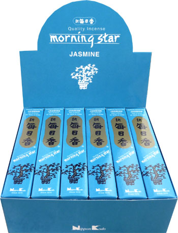 Encens japonais morning star jasmin paquet de 50 sticks