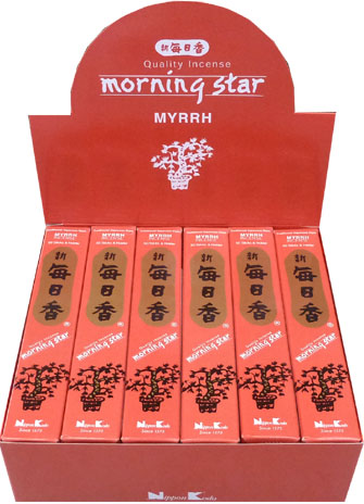 Encens japonais morning star myrrh 50bts