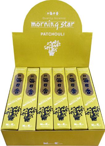 Encens japonais morning star patchouli paquet de 50 sticks