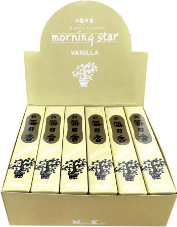 Encens japonais morning star vanille paquet de 50 sticks