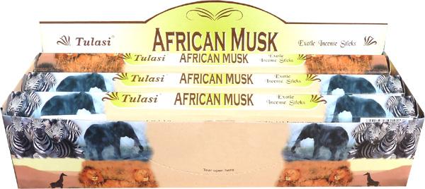 Encens tulasi sarathi musk africain hexa 20g