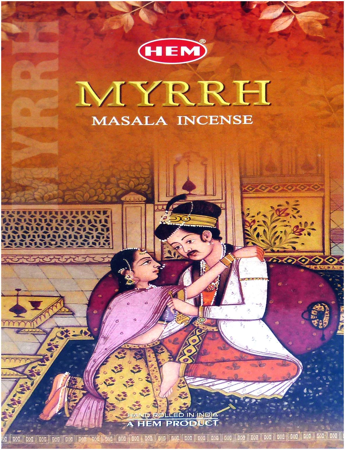 Encens hem flora masala myrrhe 15g