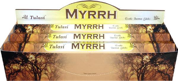 Encens tulasi sarathi myrrhe hexa 20g