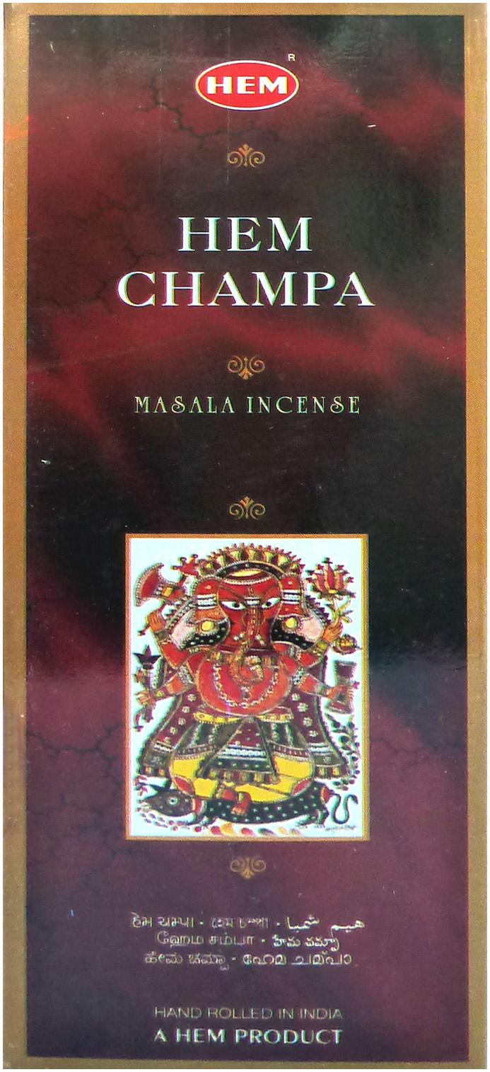 Encens Hem Champa Masala 8g