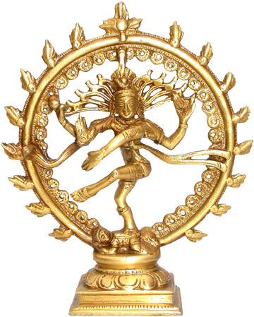 Natraj shiva danceur en bronze 15cm