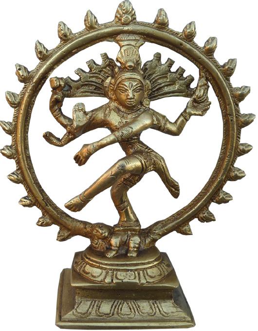Natraj dancing Shiva Bronze 15.5cm