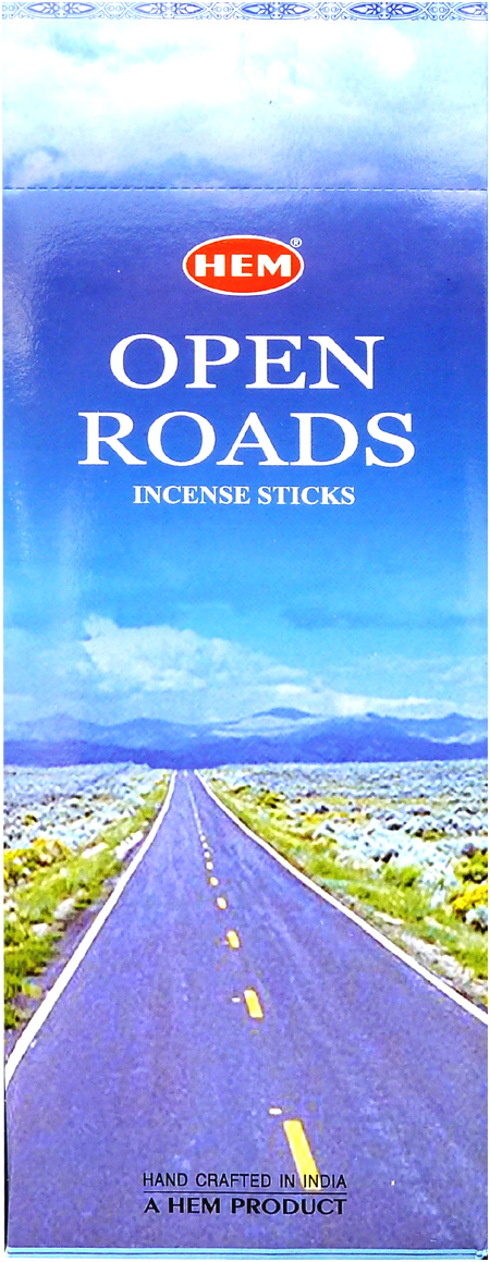 Encens hem open road hexa 20g