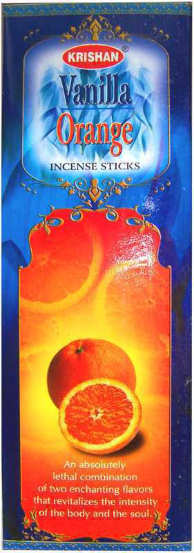 Encens Krishan Vanille Orange 8 Bts