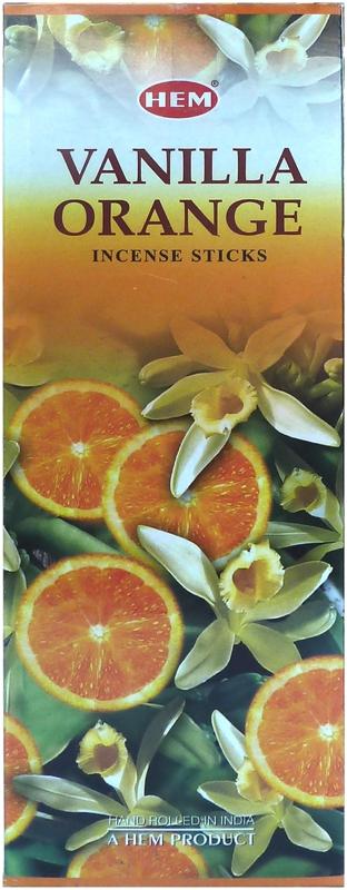 Encens Hem Orange Vanille Hexa 20g