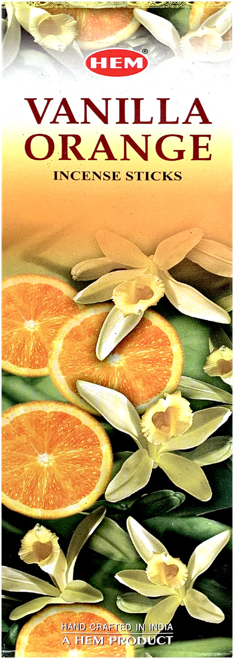 Encens Hem Vanille Orange 8 Bts
