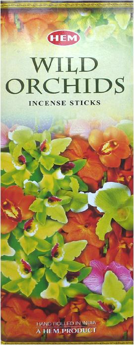 Encens hem orchidée sauvage hexa 20g