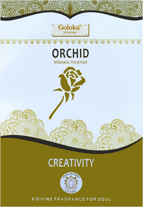 Encens Goloka Orchidée 15g