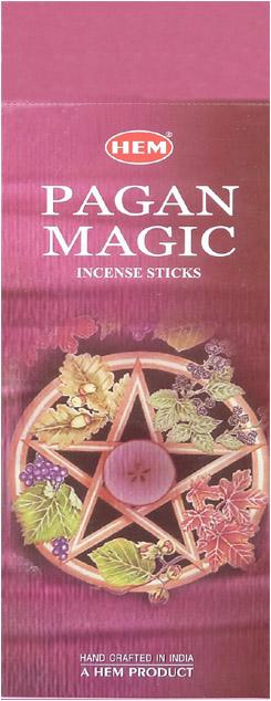 Encens hem pagan magic hexa 20g