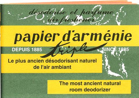 Papier d'Armenie x12