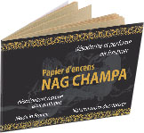 Incenso carta nag champa x12