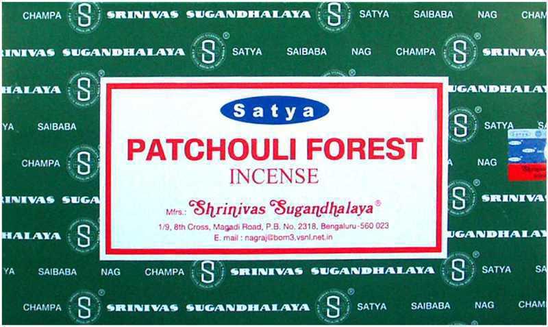 Encens Satya Patchouli Forest 15g
