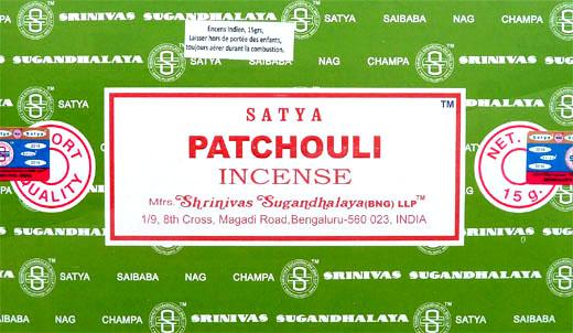 Encens satya Patchouli 15g