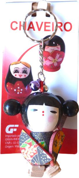 Porte clé kokeshi