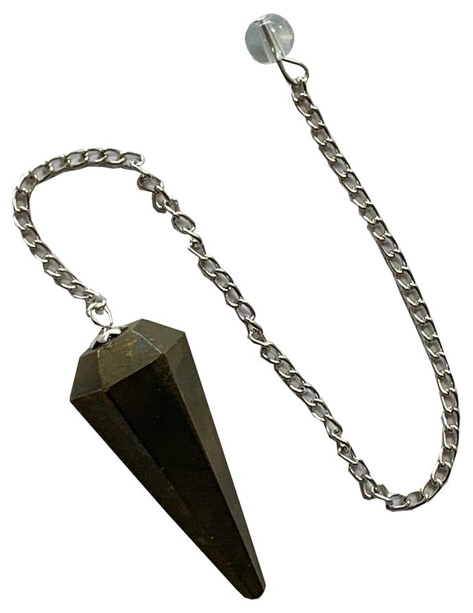 Conical pendulum in Pyrite 6 faces