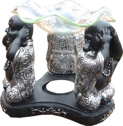 Bruleur 3 bouddhas de la sagesse