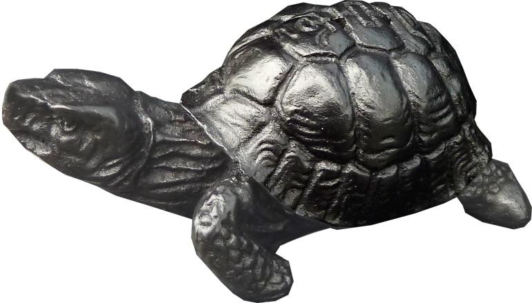 Porte encens résine tortue 9x4cm