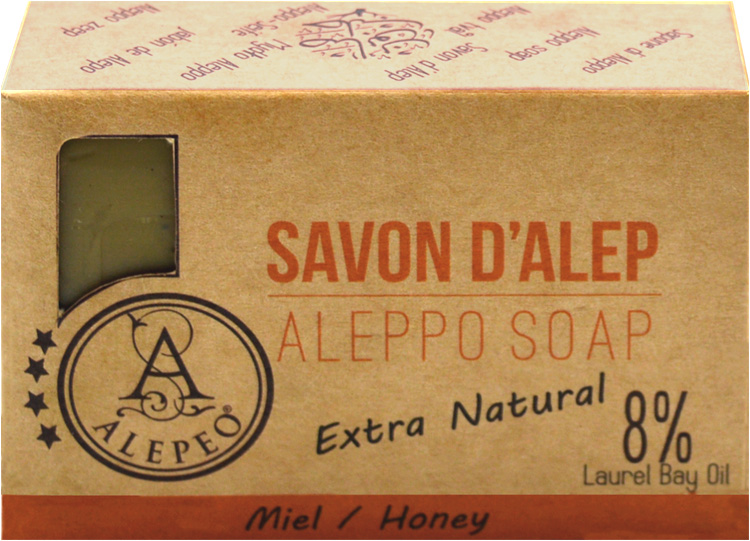 Alepeo aleppo honey soap 8% 100g