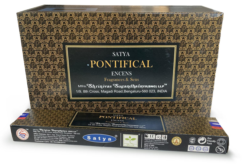 Encens Satya Fragrances & Sens Pontifical 15g