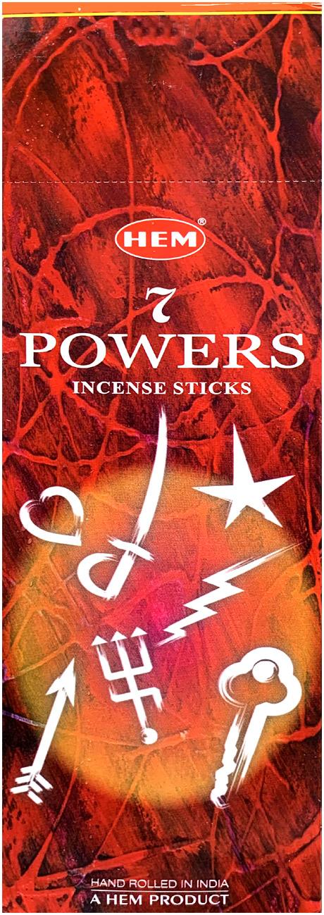 7 Powers Incense  8 Stks