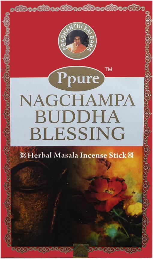 Encens Ppure nagchampa bouddha blessing 15g