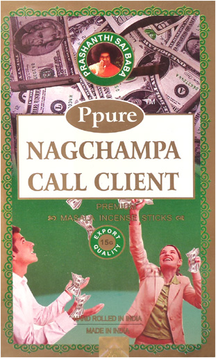 Encens Ppure nagchampa call client 15g