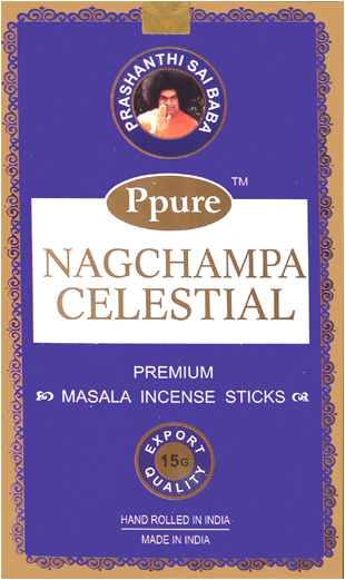 Encens Ppure nagchampa blue celestial 15g