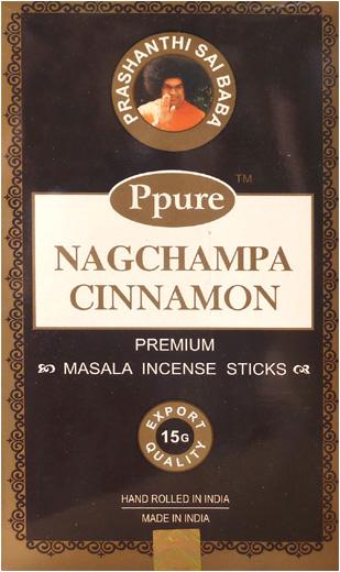Encens Ppure nagchampa cannelle 15g